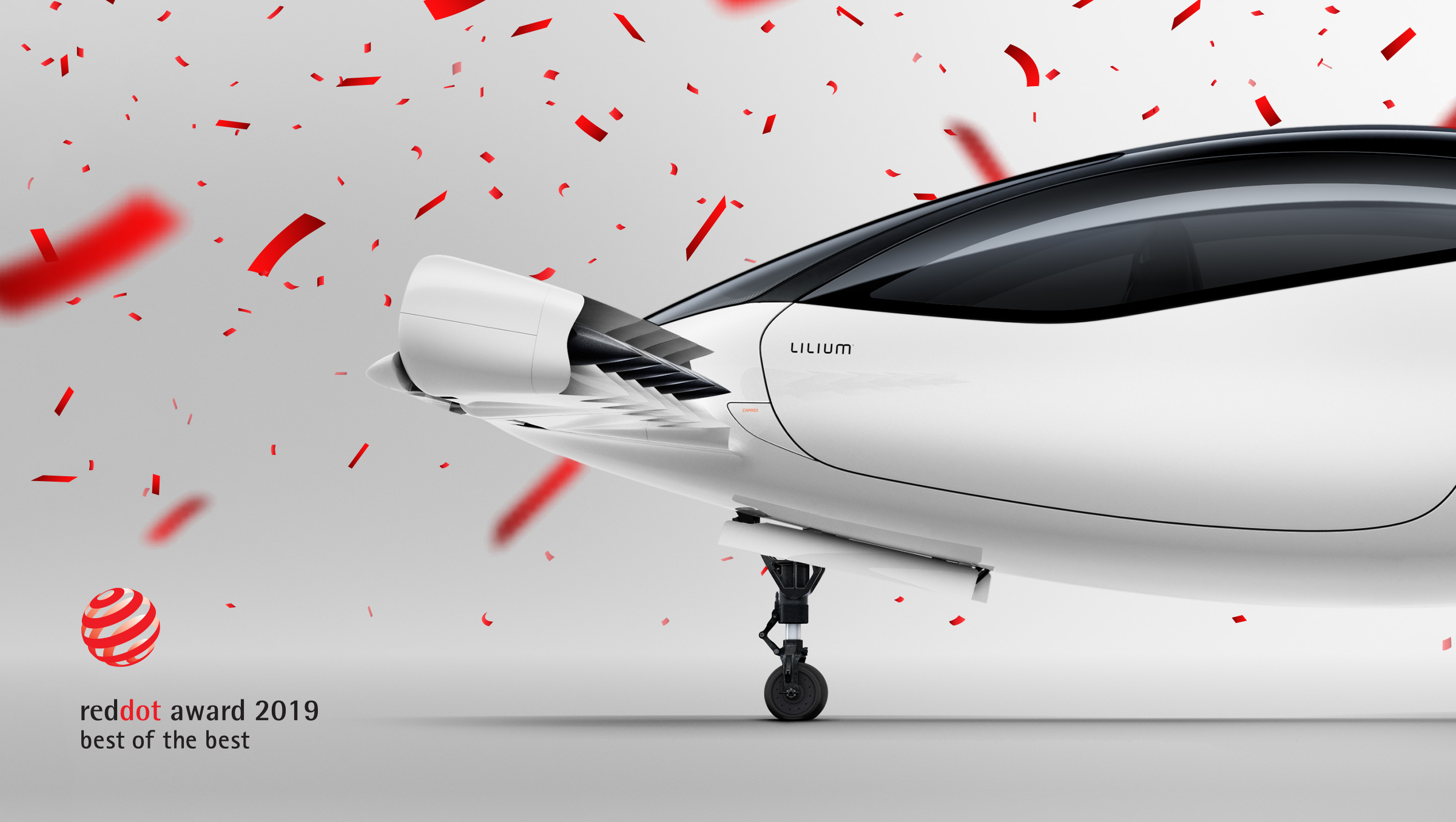 Lilium Jet awarded Red Dot 'Best of the best' Design award